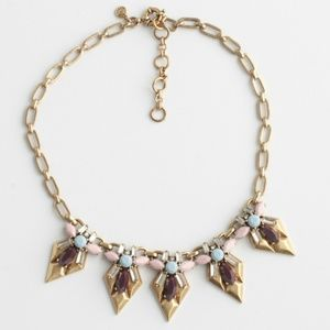 J. Crew Statement Necklace On Trend Neutral Colors
